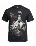 BRUCE LEE DRAGON - BLACK SUBLIMATION T-SHIRT