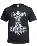 VIKING THOR'S HAMMER - BLACK T-SHIRT