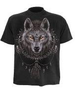 WOLF DREAM BLACK T-SHIRT