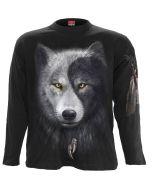WOLF CHI BLACK LONGSLEEVE T-SHIRT