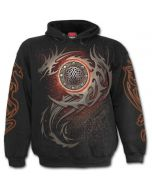 DRAGON EYE - BLACK HOODY