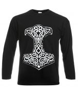 VIKING THOR'S - BLACK LONG SLEEVE T-SHIRT