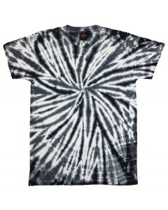 SPIDER BLACK - TIE DYE T-SHIRT