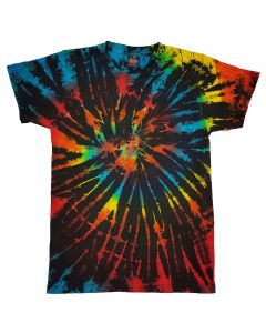 GALAXY DARK - TIE DYE T-SHIRT