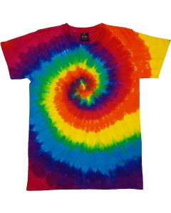 RAINBOW PURPLE  - TIE DYE T-SHIRT