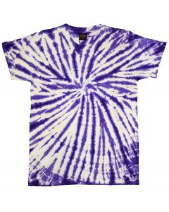 SPIDER PURPLE - TIE DYE T-SHIRT