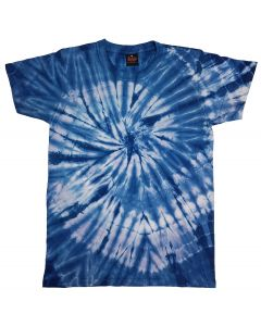SPIDER ROYAL - TIE DYE T-SHIRT