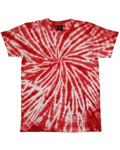 SPIDER RED - TIE DYE T-SHIRT