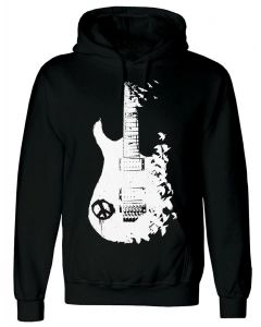 BAND GUITAR -- MEN'S BLACK HOODY