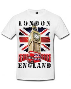 BIG BEN LONDON - WHITE SUBLIMATION T-SHIRT