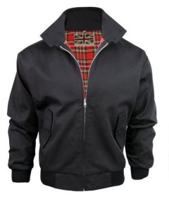 HARRINGTON BLACK JACKET