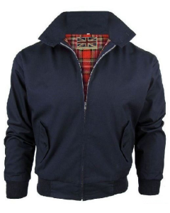HARRINGTON NAVY BLUE JACKET
