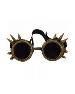 DARKWEAR WELDING CYBER GOGGLES WITH SPIKES - COPPER