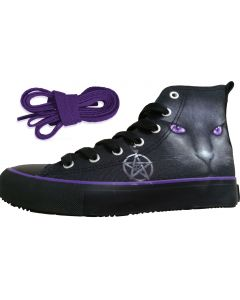 BLACK CAT - SNEAKERS HIGH TOP LACEUP