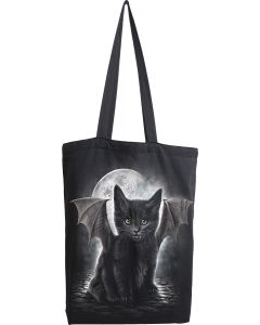 BAT CAT - BAG 4 LIFE - CANVAS 80Z LONG HANDLE TOTE BAG