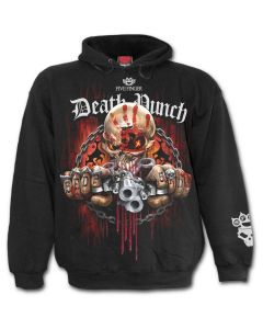 OFFICIAL FIVE FINGER DEATH PUNCH - ASSASSIN - BAND BLACK HOODY