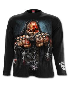 OFFICIAL FIVE FINGER DEATH PUNCH - GAME OVER - LONG SLEEVE T-SHIRT