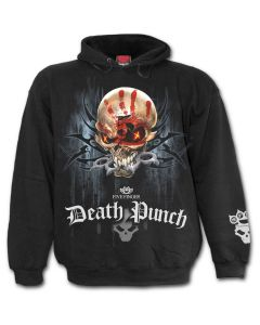 OFFICIAL FIVE FINGER DEATH PUNCH - GAME OVER - BAND BLACK HOODY