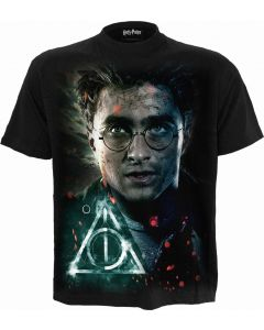 HARRY - DEATHLY HALLOWS - BLACK T-SHIRT