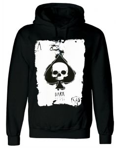 ACE OF SPADES - MEN'S BLACK HOODY
