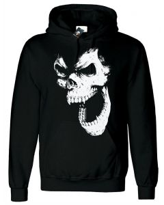 SKULL OUT - MEN'S BLACK HOODY