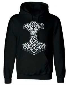 VIKING THOR'S - BLACK HOODY