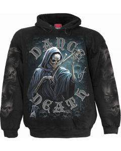 DANCE OF DEATH - MEN'S BLACK HOODY