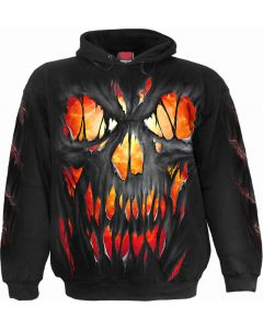 FRIGHT NIGHT- MEN'S BLACK HOODY