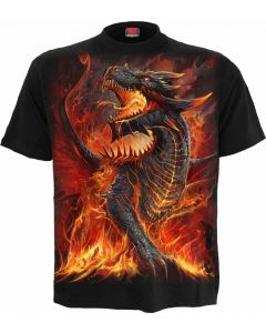 DRACONIS - KIDS BLACK T-SHIRT