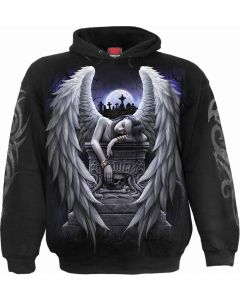 INNER SORROW- MEN'S BLACK HOODY