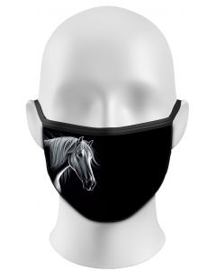 WHITE HORSE - PROTECTIVE FACE MASK
