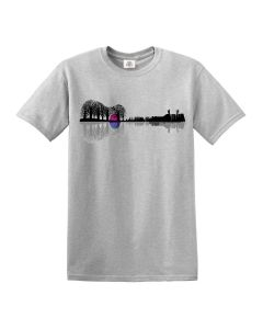 MUSIC INSTRUMENT TREE - SPORT GRAY T-SHIRT