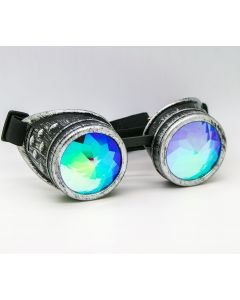 KALEIDOSCOPE WELDING CYBER GOGGLES  - BRUSHED SLIVER