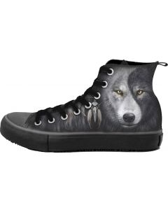 WOLF CHI MEN'S SNEAKERS HIGH TOP LACEUP