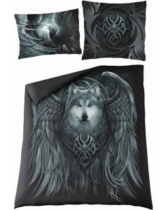 WOLF SPIRIT -DOUBLE DUVET COVER + UK AND EU PILLOW CASE
