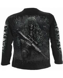 TACTICAL REAPER - BLACK LONG SLEEVE T-SHIRT