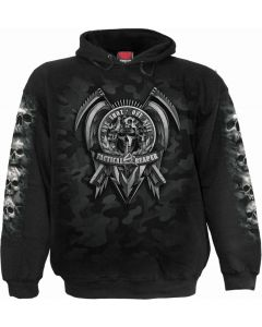 TACTICAL REAPER - MEN'S BLACK HOODY