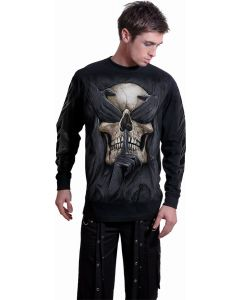 SEE NO EVIL - BLACK LONG SLEEVE T-SHIRT