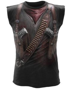 HOLSTER WRAP ALL OVER SLEEVELESS T-SHIRT
